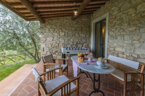 Villa Roberto mit privatem Pool der Nähe Arezzo | Tritt-toskana.de
