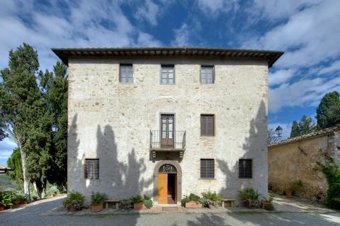Prachtige villa Volterra Toscane