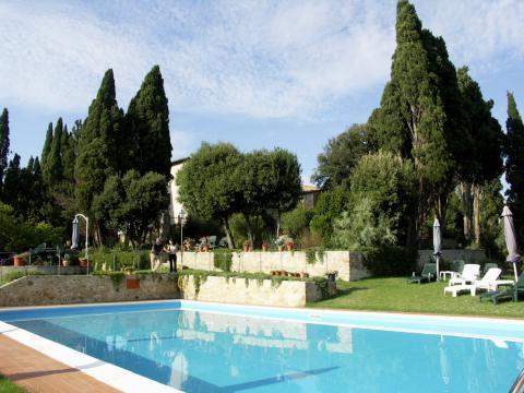 Luxe villa bij Volterra Toscane