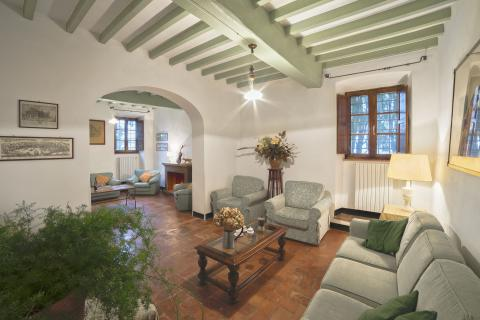 Luxe villa Volterra Toscane