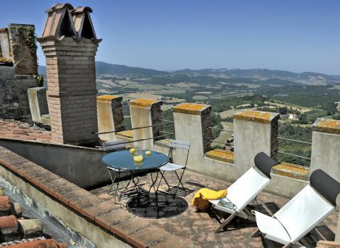Vakantiewoningen kasteel Toscane