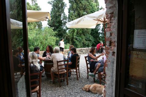 Vakantie bij een kasteel in Toscane