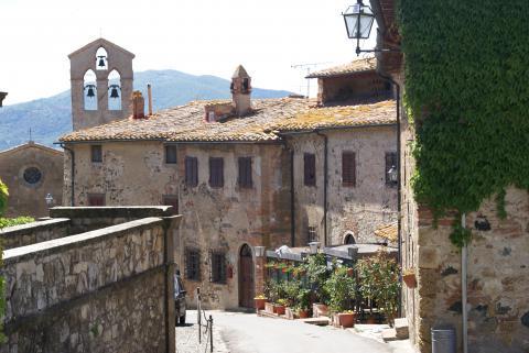 Vakantieaccommodatie Toscane kasteel