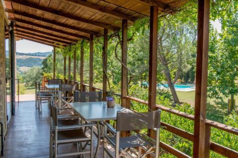Vakantieappartement Toscane met restaurant