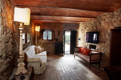 Wohnzimmer Wohnung Terrarossa
