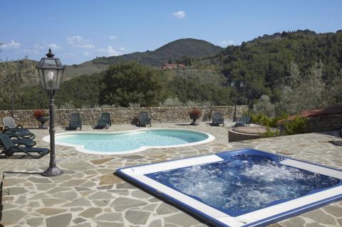 Jacuzzi und Pool