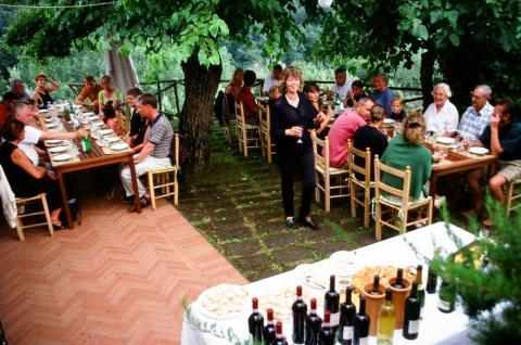 Agriturismo, wijnboerderij Toscane met appartement