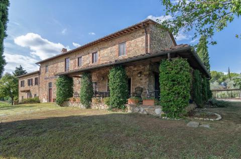 Agriturismo wijnboerderij Toscane