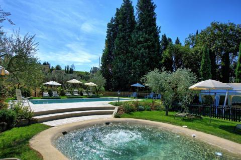 Vakantiehuis voor 2 gezinnen in Florence, Toscane.