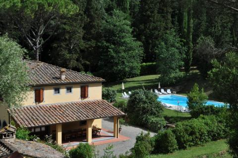 Villa Toscane met zwembad 18 prs.