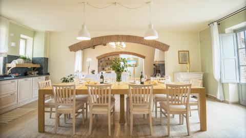 Comfortabel vakantiehuis Toscane