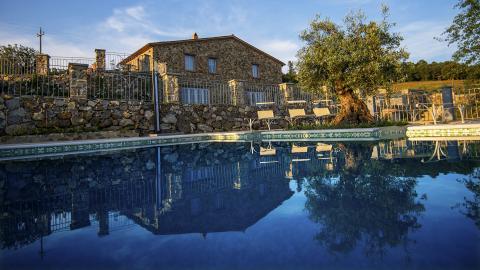 freistehende Villa mit Pool