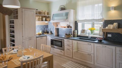 Küche in der Luxus-Villa