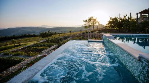 Luxe villa grens Toscane - Umbrie