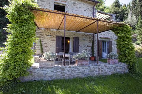 Vakantiehuis in Toscane met ruim terras en veranda