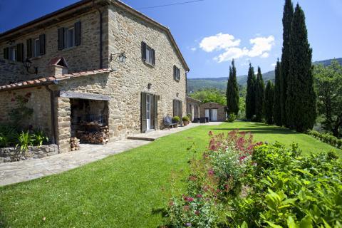 Vrijstaande Villa Cortona - Toscane