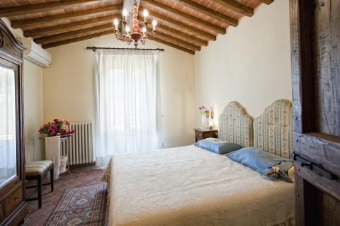 Villa met zwembad en airco Toscane