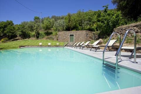 Villa met zwembad Cortona Toscane