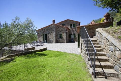 Vakantiehuis in Toscane - Tritt