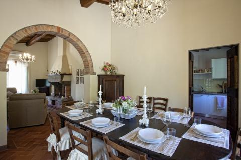 Villa voor 11 personen binnenland Toscane