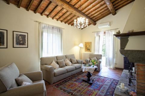 Vakantiehuis met airco en zwembad Toscane