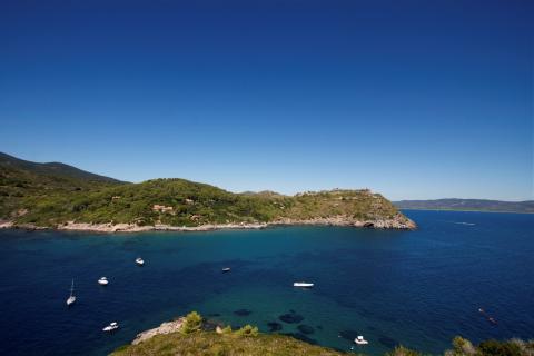 Villa bij de mooiste stranden van Toscane