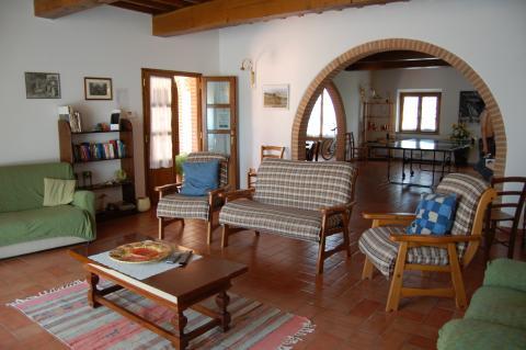 Lounge voor maaltijden en vertier