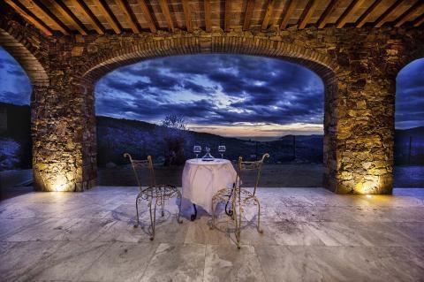 Luxe villa op Elba met zeezicht vanaf het terras