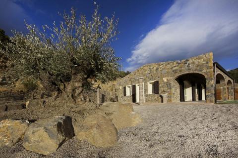Luxe vakantiehuis Elba bij het strand