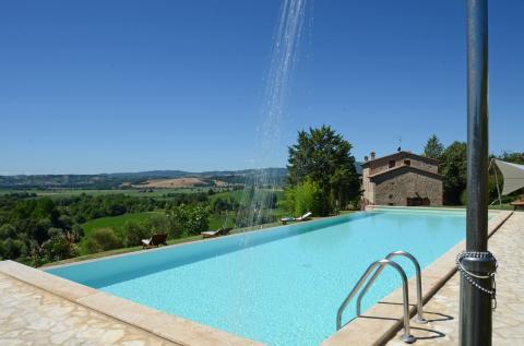 Vakantiehuis Perugia met zwembad en zonneterras