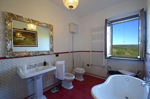 riante badkamer