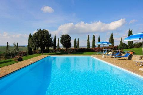 Vakantiewoning met zwembad Siena