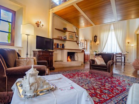 Smaakvolle villa zuid Siena Toscane