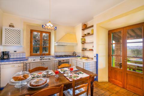 Ruime smaakvolle villa nabij Siena, Toscane