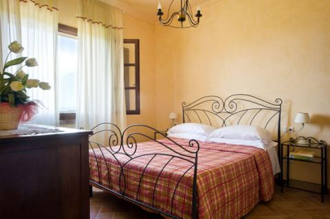 Agriturismo Toskana Schlafzimmer