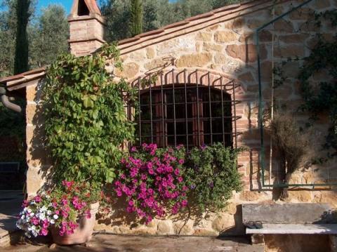 Goed verzorgde cottage Toscane voor 2 personen.
