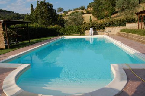 Toscaans huisje Siena met privé zwembad.