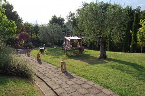 Huisje Toscane Trequanda, mooi fiets/wandelgebied