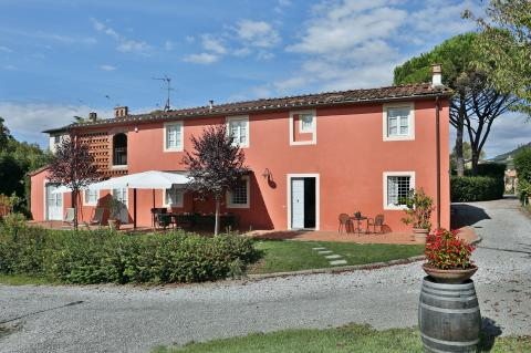 Villa Bellona in Lucca, Toscane