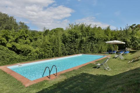 Ferienhaus mit Pool Villa Billona