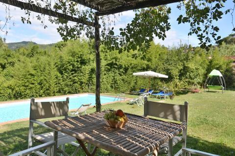 Ferienhaus mit Pool in der Provinz Florenz