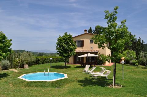 Vakantiehuis vrijstaand met klein zwembad Toscane