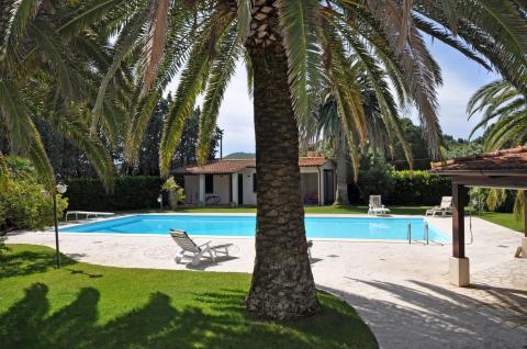 Im Süden der Insel Elba, liegt diese Villa