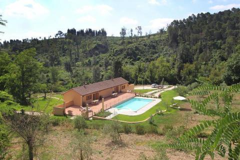 Groepsvilla of appartement voor vakantie Toscane