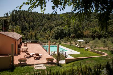 Landhuis in Toscane met volledige privacy!