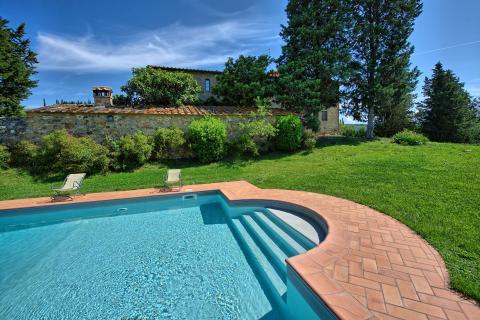 Villa Toscane Siena 16 personen