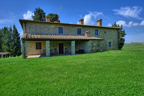 Ruime vakantiewoning Chianti Toscane