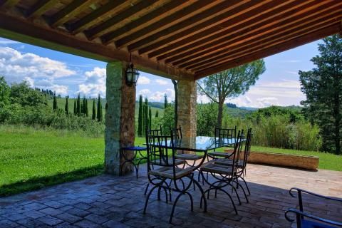 Villa Toscane bij Siena 16 personen