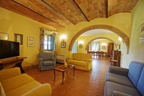 Vakantie in Italië in Toscaanse villa