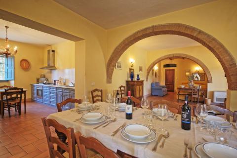 Familievilla in de Chianti, Toscane